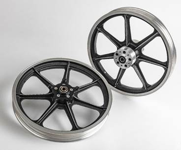 seven spoke sportster wheel dual disc 1